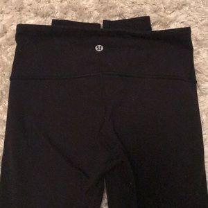 lulu leggings black